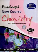 New Course Chemistry with Value Based Questions for Class - 12 (Set of 2 Volumes): Regionalbooks