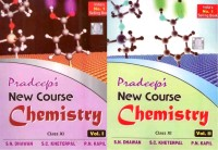 Pradeep's New Course Chemistry For Class 11 (Set of 2 Volumes): Regionalbooks