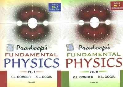 Buy Pradeep's Fundamental Physics (Class-XI) (Set Of 2 Vols): Regionalbooks