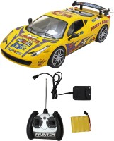 Funny Bunny 2 Channel Infrared Control Car Gift Toy For Kids (Yellow)