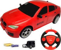 Flipzon Jackmean Rc Remote Control Racing Rechargeable Car With Steering (colour May Vary) 1 Piece (Multicolour)