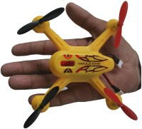 AdraxX X6 Gyro Stabilized Yellow Micro RC Quadcopter Drone Indoor And Outdoor (Yellow)