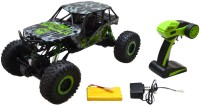 Wishkey Drive Rock Crawler Radio Remote Control R/c Car-Green (Green)
