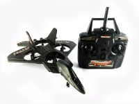 KBnBS Remote Control RC Fighter Jet Quadcopter Drone (Enhanced 2.4Ghz Version) (Black)
