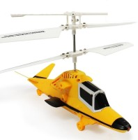 The Flyer's Bay Powerful Radio Controlled Helicopter Version 2.0 (Multicolor)