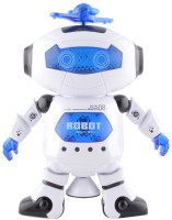 Tickles Naugty Dancing Robot With LED Light Music Toy (White)