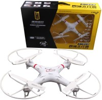 Krypton 2.4g 4ch Fpv Quadcopter 6-Axis Gyro Professional Drones Headless Mode With Camera (Multicolor)