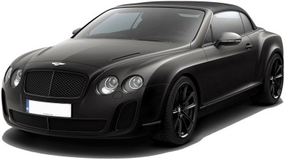 Adraxx 1:24 Scale Black Metal Die Cast RC Convertible Bentley Car Toy Black