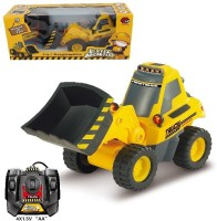 Toys Bhoomi RC Front Loader - Construction Toys (Yellow)