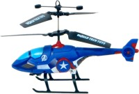 TRD Store Jat-in R/C Control Avenger Series 2 Channel Helicopter With Light(Captain America) (Blue)