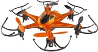 The Flyer's Bay Pheonix -X12 LH 6 Axis 2.4G RC Hexacopter Drone With Flashing Light & Headless Mode (Orange) (Multicolor)