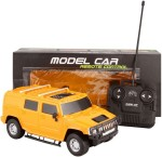 PremK Remote Control Toys PremK Toys Yellow Rechargeable 1:24 Scale Hummer