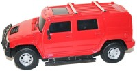 Littlegrin Hummer Remote Control Model Car Scale 1:16 With Charger Kit Gift Toy For Kids (Red)