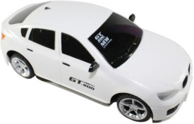 Littlegrin Jackmean Remote Control Rc Car With Charger Gift Toy For Kids (White)