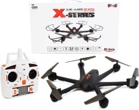 Building Mart Powerful Professional 2.4G 6 Axis Gyro RC Hexacopter With Headless Mode & 3D Roll (Black)