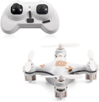 Toys Bhoomi Hot Selling 4CH 2.4GHz RC Quadcopter With Headless Mode - World's Smallest Drone (White)