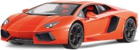 Toyhouse Radio Remote Control 1:10 Lamborghini Aventador LP700-4 RC Scale Model Car (Orange)