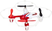 Shopcros R/C 2.4GHz 6 Axis X-Quadcopter Drone With Built-in Gyro(Red) (Red)