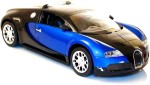 The Flyer's Bay Remote Control Toys The Flyer's Bay Bugatti Veyron Full Function Rechargeable 1:14 Scale RC Car Blue