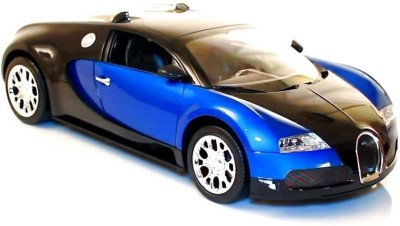 The Flyer's Bay Bugatti Veyron Full Function Rechargeable 1:16 Scale RC Car Blue - Multicolor
