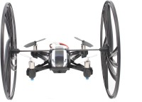 The Flyer's Bay 4 In One 2.4 Ghz Multi Form Drone With Camera (Multicolor)