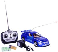 A R Enterprises King Driver Wireless Remote Controlled Car (Multicolor)