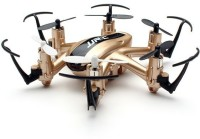 Toys Bhoomi Nano Hexacopter 2.4G 4CH 6Axis Headless Mode - Micro Quadcopters Professional Drones Flying Helicopter (Gold)