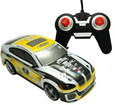 PremK Remote Control Toys PremK 1:24 Scale Fast & Furious Racing Car Yellow
