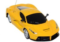 HPD Ferrai LA Full Function Rechargeable 1:24 Scale Remote Control Car (Yellow)