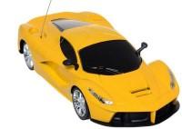 HPD Ferrai LA Full Function Rechargeable 1:24 Scale Remote Control Car (Yellow)