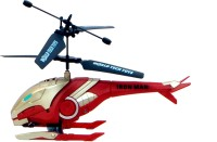 TRD Store Jat-in R/C Control Avenger Series 2 Channel Helicopter With Light(Iron Man) (Red)