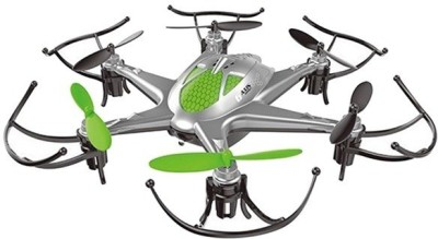 PRASIDH Silver 6 Axis X12 RC Hexacopter Drone With Led Light & Headless Mode (White)
