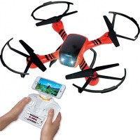 Vaibhav 4 Channel RC X Drone 6 Axis Gyro Quadcopter Scout With FPV Camera - Orange (Orange)