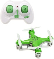 Toys Bhoomi New 4-Channel 6 Axis Gyro Mini RC Drone - World's Smallest Quadcopter (Green)
