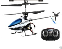 Arnavs 6032 4-Channel 2.4GHz RC Radio Control Single Blade Helicopter Mode 2 Controlled (White, Black)