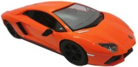 HPD Lamborghini Full Function Rechargeable 1:24 Scale Remote Control Car (Orange)