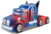 Gift World Transformers 2.4Ghz One-key Transform R/C Optimus Prime Changing Car (Blue)
