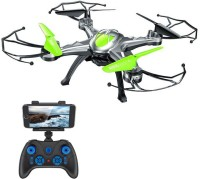 Gift World 6 CH 6 Axis Gyro Wi-Fi FPV Real-time Streaming HD Camera Drone (Green)