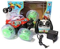 Shop & Shoppee Angry Bird Action Stunt Car (Multicolor)