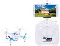 Emob WiFi Drone Quadcopter With Hd Camera Transmitter Control & Mobile Remote Control Which Supports Android & IOS (Multicolor)