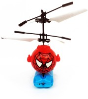 Kbnbs Intelligent Self Controlled Infrared Sensor Helicopter For Kids (Red)