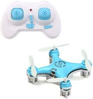 Toys Bhoomi New 4-Channel 6 Axis Gyro Mini RC Drone - World's Smallest Quadcopter (Blue)
