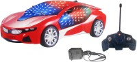 Smart Picks 3D Famous Remote Control Car (Multicolor)