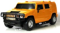 Littlegrin Hummer Remote Control Model Car Scale 1:16 With Charger Kit Gift Toy For Kids (Orange)
