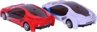 Eklavya Racing International 3d Light Car (Multi Color)