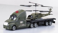 Bento Helicopter & Truck Combo (Green)