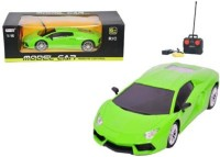 Reyhawk Smart Lamborghini Green Car With Remote(Green) (Green)