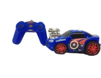 Genie's Toy Bus Captain America Speedster R/C Car (Red & Blue)