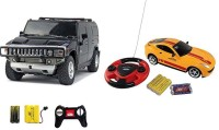 ECO SHOPEE REMOTE CONTROL 1:24 HUMMER CAR WITH JACKMEAN RECHARGABLE CAR WITH STEARING (MULTICOLOR) TOY FOR KIDS (MULTICOLOR) (MULTI COLOR)