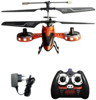 Shopcros Remote Control Rechargeable 4 Channel Helicopter (Orange)